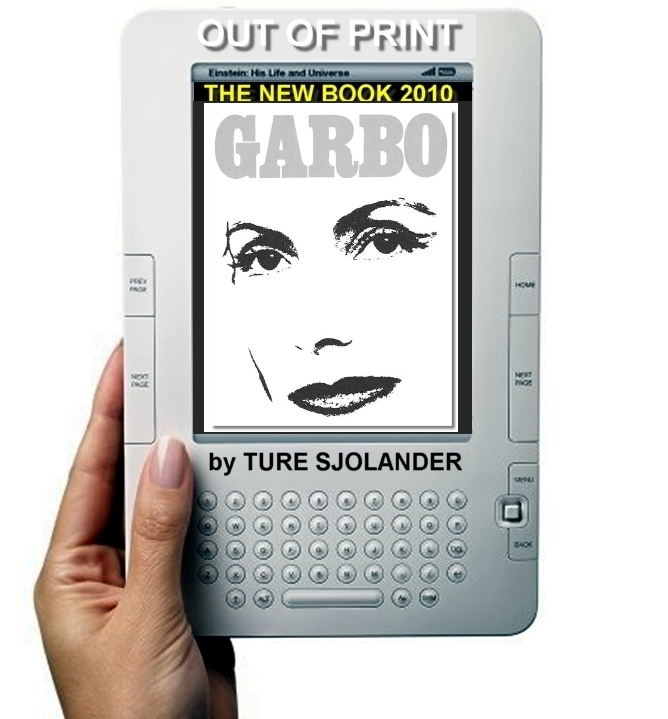 CLICK FOR GARBO E-BOOK BY TURE SJOLANDER